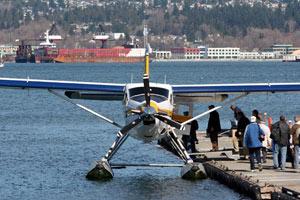 Vancouver BC float plane