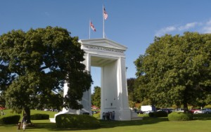 Peace Arch Border Crossing