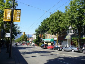 Vancouver Commercial Drive Shopping